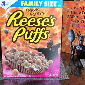 Travis Scott's Reese's puffs special edition